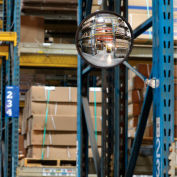 Global Industrial™ 7'' Clip On Convex Safety Mirror