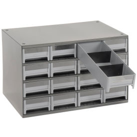 """AKRO-MILS Industrial Parts Cabinet - 17x11x11"""" - (16) 4x10-1/2x2-1/8"""" Drawers"""