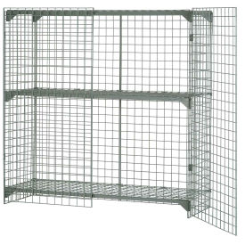 Wire Mesh Security Cage,  60 x 24 x 72