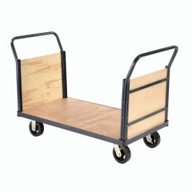 Euro Style Truck - Wood Ends & Deck, 48 x 24, 2000 Lb. Capacity