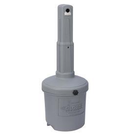 Gray Outdoor Ashtray, 5 Gallon