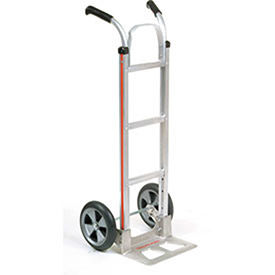 Magliner Aluminum Hand Truck with Double Handle, Balloon Wheels