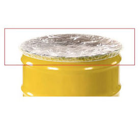 Elastic Polyethylene 55 Gallon Drum Cover - Pkg Qty 100