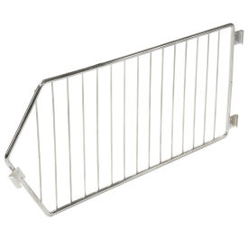 """Chrome Wire Divider, 20""""D x 12""""H"""