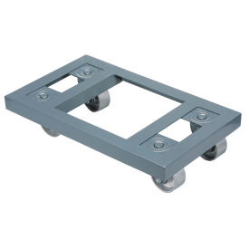 Steel Dolly with Open Deck & Steel Wheels, 27 x 16, 1600 Lb. Capacity