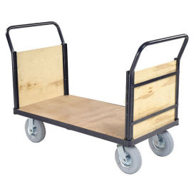 Euro Styel Truck - Wood Ends & Deck, 60 X 30, 1200 Lb. Capacity