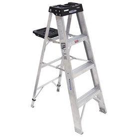 Werner 4' Type 1A Aluminum Step Ladder