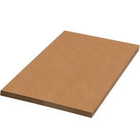 "42"" x 42"" Corrugated Sheets, 200#/ECT-32, Kraft - Pkg Qty 5"