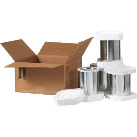 Box Partners 1 Quart Foam Shipperkit, HAZFS1Q