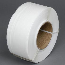 "Pac Strapping Machine Grade Polypropylene Strapping, 1/2"" W x 9000' L, 8"" x 8"" Core"