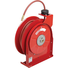 "Spring Driven All Steel Compact Hose Reel, 1/4"" X 50' Hose"