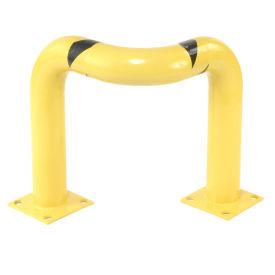 "Tripple Elbow Corner Guards, Steel, 24""H X 30""L, Yellow"