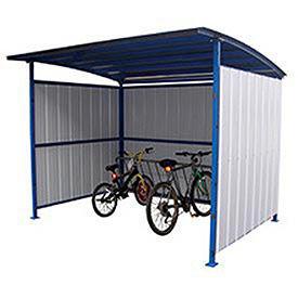 Bike Storage Shelter, 7-15 Bike Capacity
