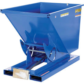 3/4 Cu. Yd. Self-Dumping Steel Hopper with Bump Release, 6000 Lb., Vestil D-75-HD