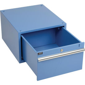 """12""""H Drawer for 30""""D Workbench, Blue"""