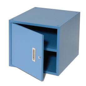 "16""H Stackable Hanging Cabinet, Blue"