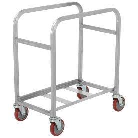 "Winholt SS-L-2 Mobile Stainless Steel Lug Cart Capacity 2 Lug, 25""L x 16""W x 33""H, No Lugs"