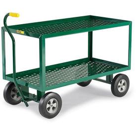 "LITTLE GIANT 2-Shelf Landscaping Cart - 48""Wx24""Dx32""H"