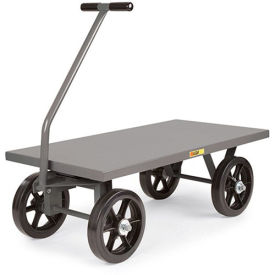 "LITTLE GIANT Shop Wagons - 16"" Pneumatic Wheels - 60""Wx30""D Deck"