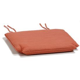 Armchair Cushion - Dupione Papaya