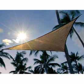 ShadeSail - Sand, 12' Triangle