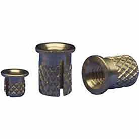 Brass EZ Lok 240-M3-BR Lot of 50 M3-0.5 Flush Press Insert
