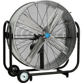 "42"" Portable Tilt Drum Blower Fan, Belt Drive"