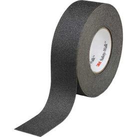 "3M Safety-Walk Slip-Resistant General Purpose Tape, 610, Black, 3/4""x60', 4 Rolls"
