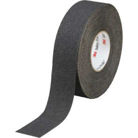 "3M Safety-Walk Slip-Resistant Med. Resilient Tape, 310, Black, 4""x60', 1 Roll"