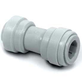 """Push-In-Fitting3/8"""" Union Connector W/ 1/4"""" Tube O.D.  - Pkg Qty 10"""