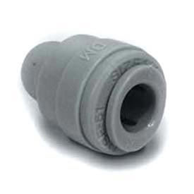 "Push-In-Fitting 1/4"" Tube End Stop  - Pkg Qty 10"