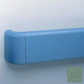 Reversible Return For Br-500 Series Handrail, Vinyl, Teal