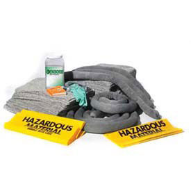 ENPAC 1320-RF Refill For 20 Gallon Spill Kit, Universal