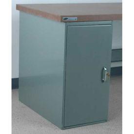 "Stackbin Cabinet Pedestal, 16""W X 30""D X 30-1/4""H, Gray"