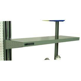 """Stackbin Flat Steel Shelf, 26""""W X 12""""D, Blue"""