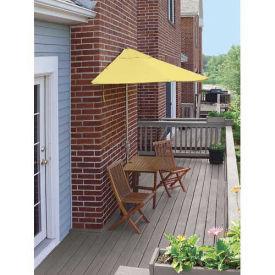 TERRACE MATES® VILLA Standard 5 Pc. Set W/ 9 Ft. Umbrella, Yellow Sunbrella
