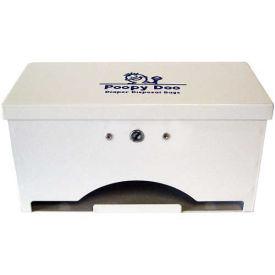 Poopy Doo Diaper Disposal Bag Dispenser, 200 Bag Capacity