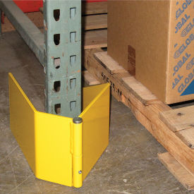 Extra Heavy Duty Frame Guard, Left, Steel, Yellow