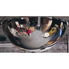 360-Degree Steel Full Dome Mirror - Indoor, 24 Diameter