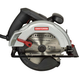 Craftsman 7-1/4 in. Circular Saw 12AMP Model: 46123 With 0 Degree - 52 Degree Bevel