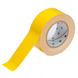 "Brady ToughStripe Floor Marking Tape, Polyester, 2""W X 100'L, Yellow, 104312"