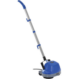 """Mini Floor Scrubber W/ Floor Pads, 11"""" Cleaning Path"""