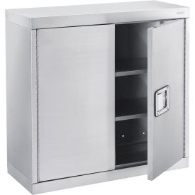 """Wall Cabinet, Stainless Steel 430, 30""""W x 12""""D x 30""""H"""