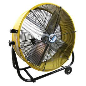 "MaxxAir™ 24"" Tilt Heavy Duty Roll-Around Tilt Portable Barrel Fan, 4000 CFM"